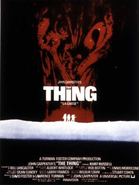 The Thing : Affiche John Carpenter - Copyright Splendor Films