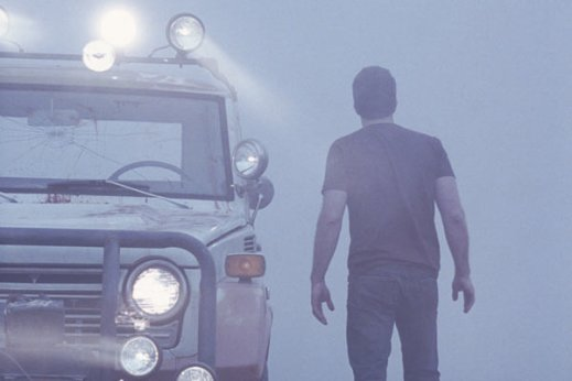 The Mist : Photo Frank Darabont, Thomas Jane - Copyright TFM Distribution