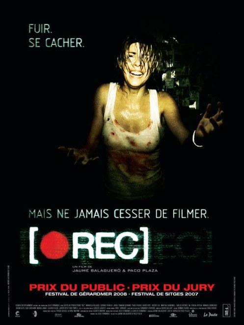 [REC] : affiche Paco Plaza