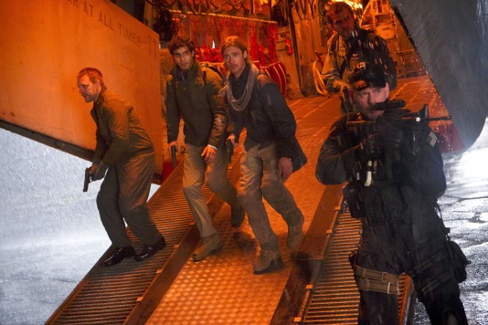 World War Z : Photo Brad Pitt, Grégory Fitoussi - Copyright Paramount Pictures