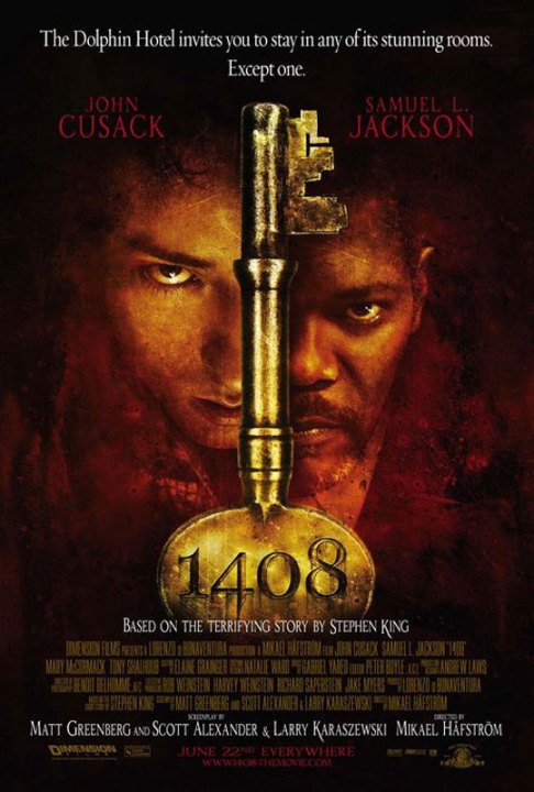 Chambre 1408 : Affiche Mikael Hafstrom - Copyright Dimension Films