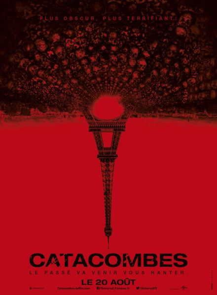 Catacombes : Affiche - Copyright Legendary Pictures / Universal Pictures